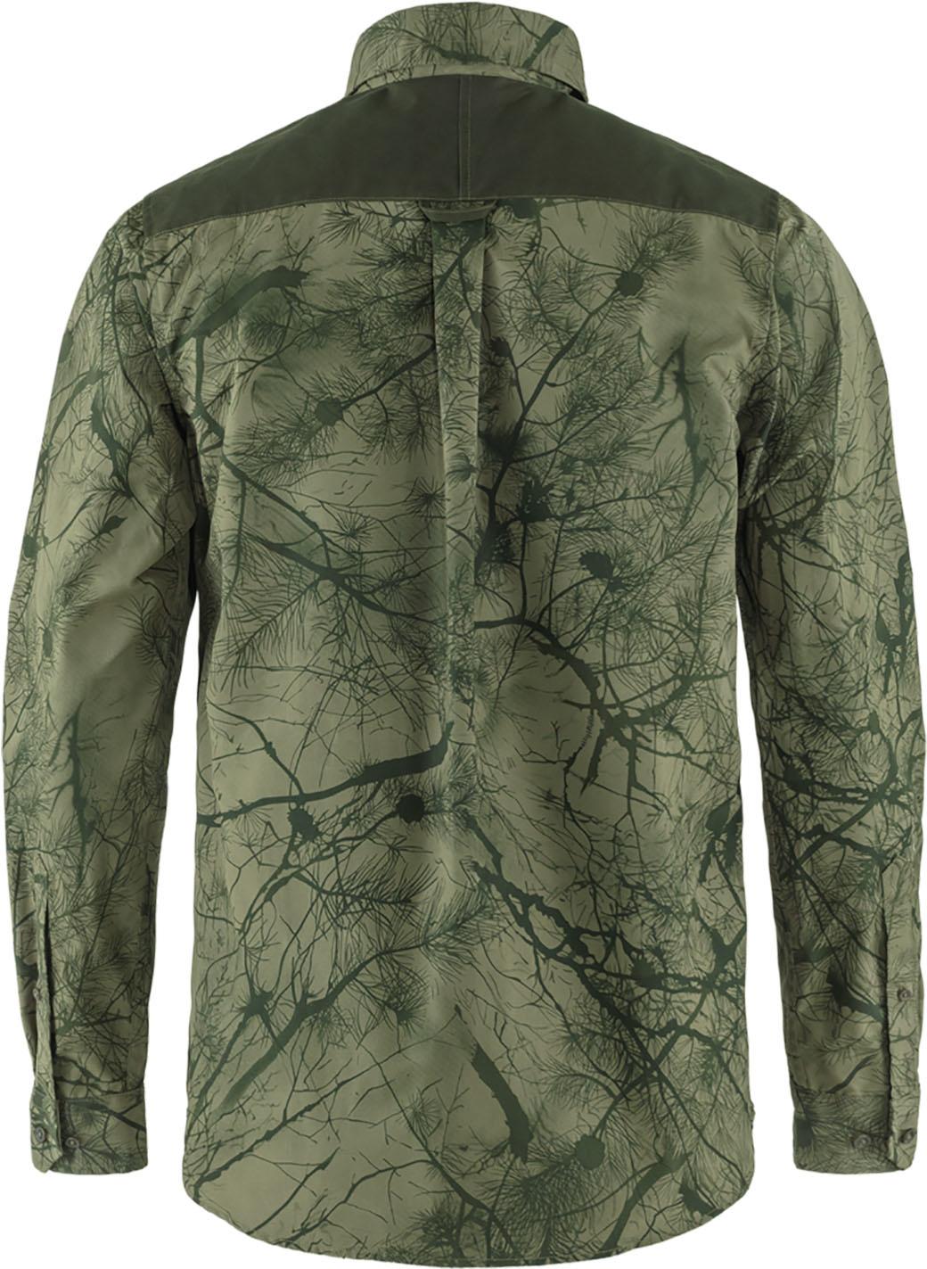 Fjällräven Värmland G-1000 Shirt M Green Camo-Deep Forest-2