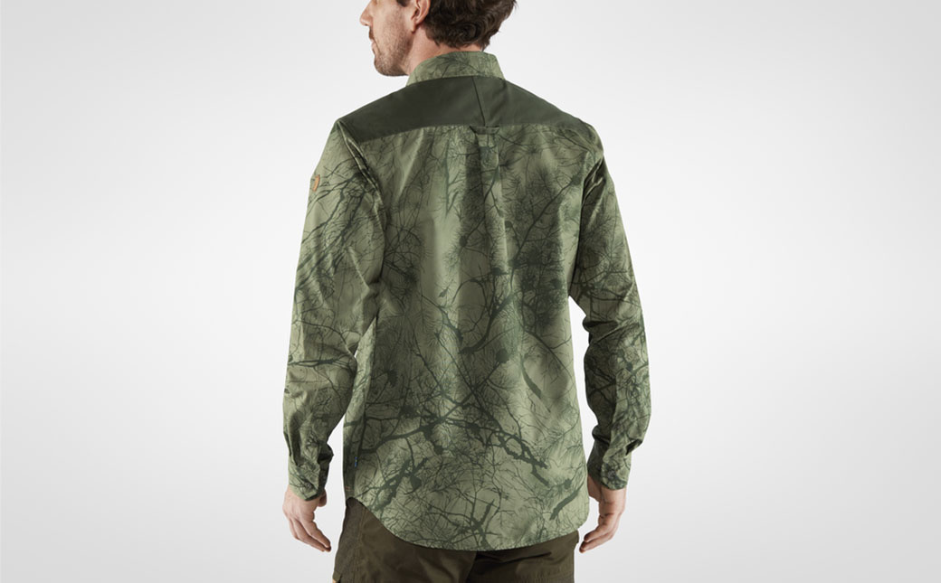 Fjällräven Värmland G-1000 Shirt M Green Camo-Deep Forest-3