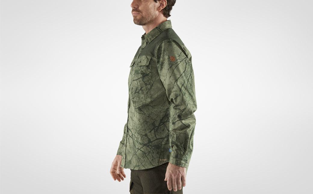 Fjällräven Värmland G-1000 Shirt M Green Camo-Deep Forest-4