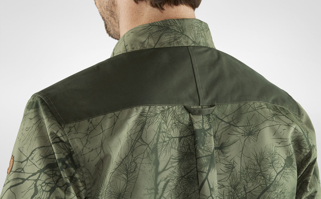Fjällräven Värmland G-1000 Shirt M Green Camo-Deep Forest-5