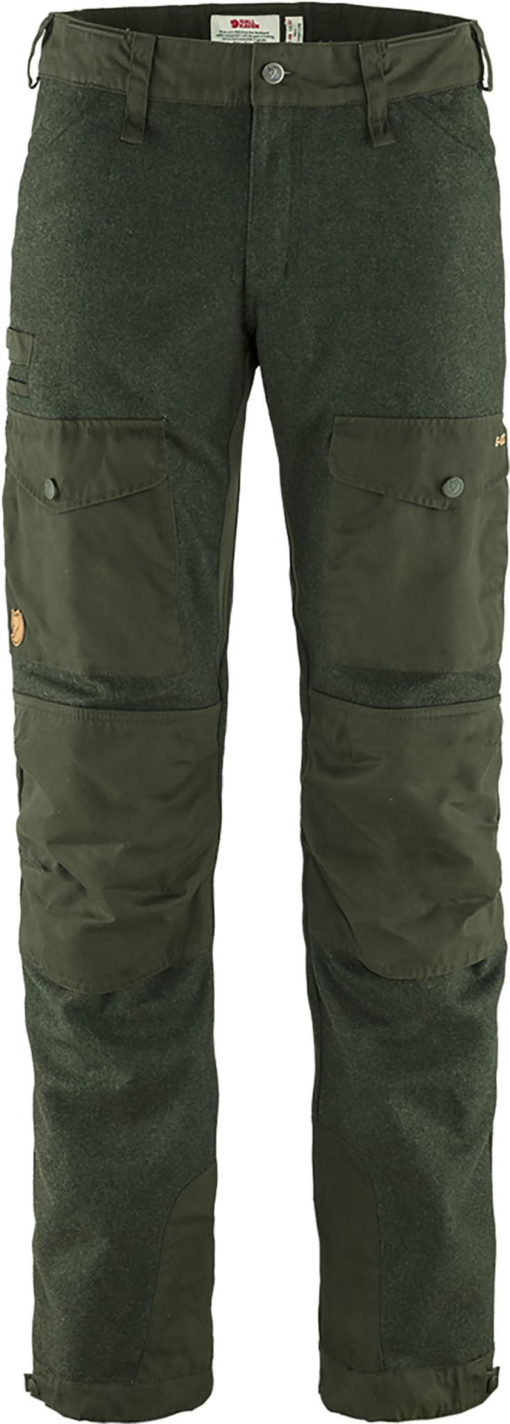 Fjällräven Värmland Wool Trousers M Deep Forest-1