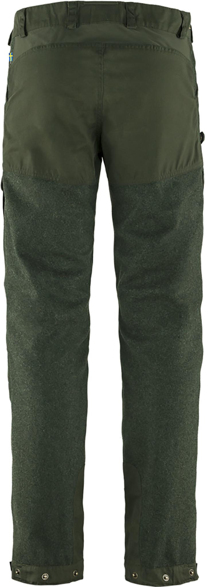 Fjällräven Värmland Wool Trousers M Deep Forest-2