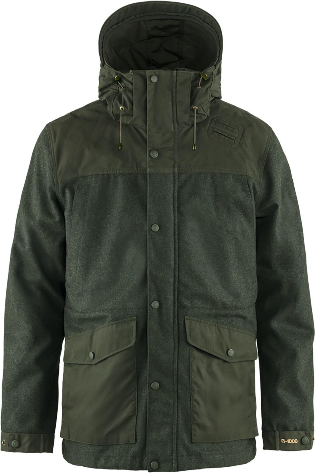 Fjällräven Värmland Wool Jacket M Deep Forest-1