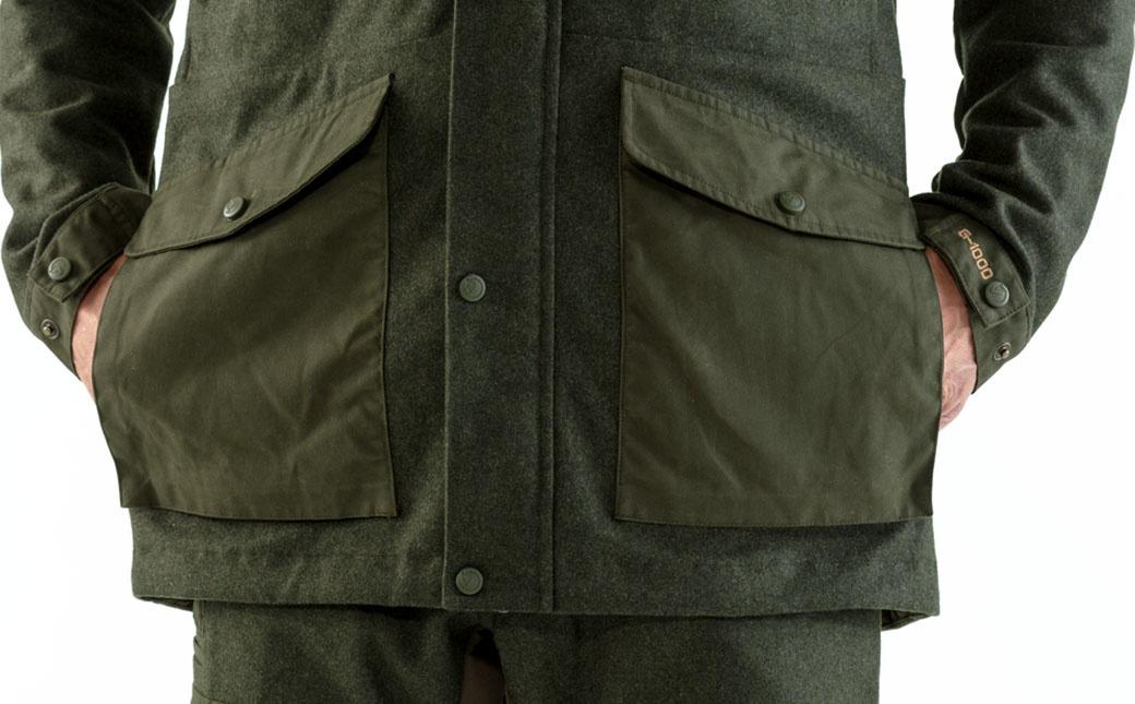 Fjällräven Värmland Wool Jacket M Deep Forest-5