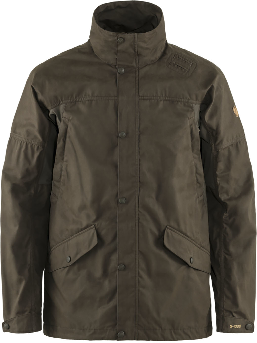 Fjällräven Forest Hybrid Jacket M Dark Olive-1