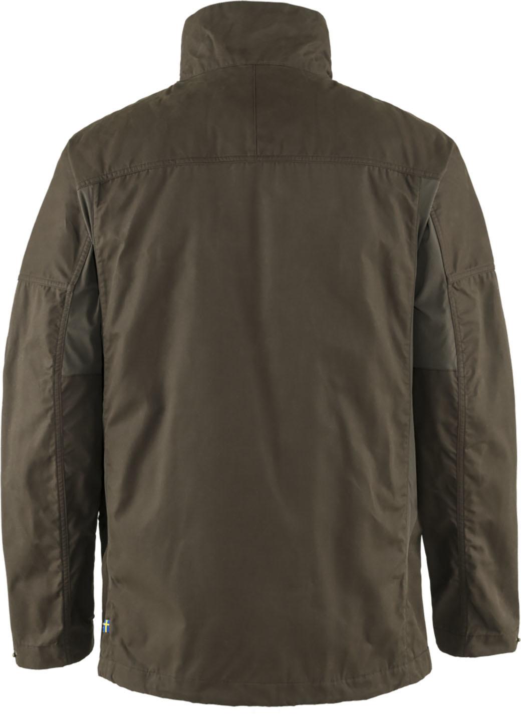 Fjällräven Forest Hybrid Jacket M Dark Olive-2