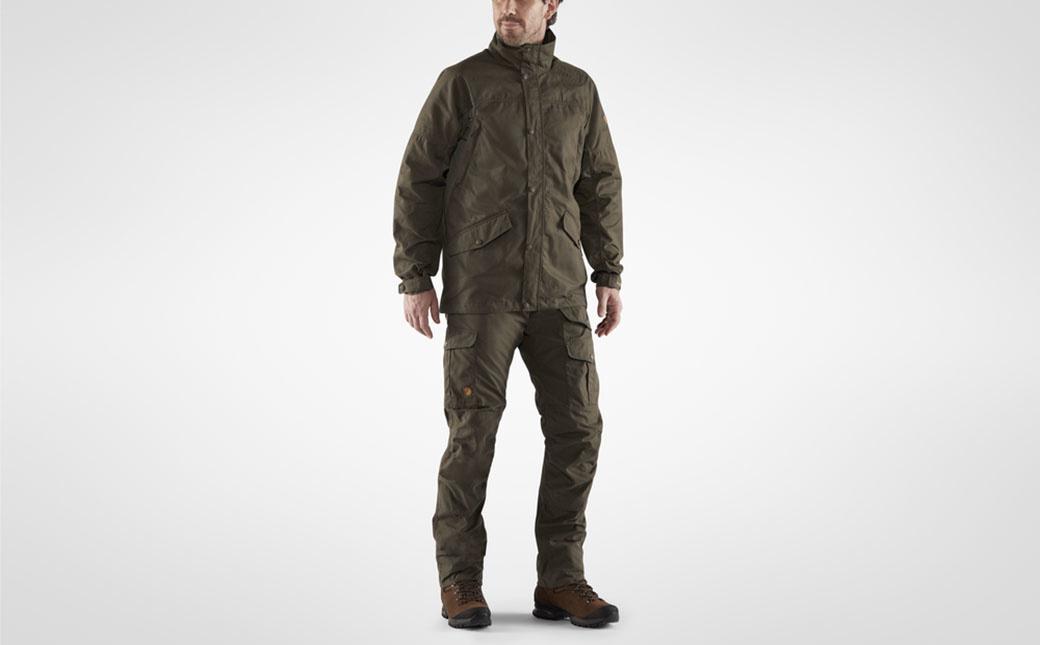 Fjällräven Forest Hybrid Jacket M Dark Olive-3