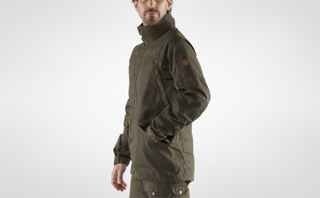 Fjällräven Forest Hybrid Jacket M Dark Olive-5