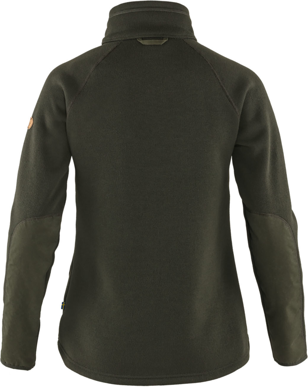 Fjällräven Övik Fleece Zip Sweater W Deep Forest-2