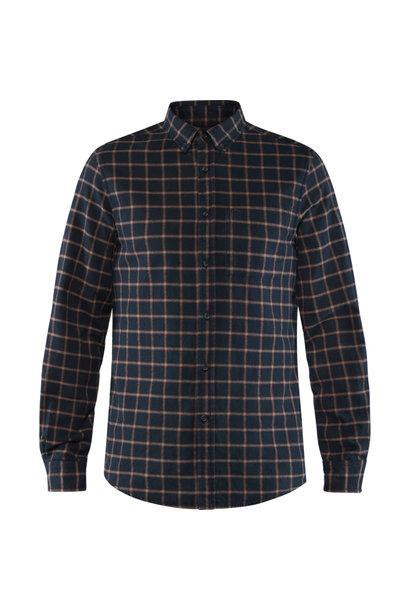 Fjällräven Övik Flannel Shirt M Dark Navy