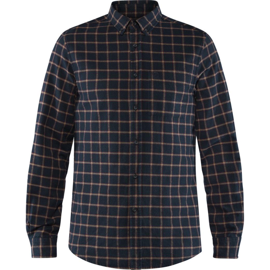 Fjällräven Övik Flannel Shirt M Dark Navy-1