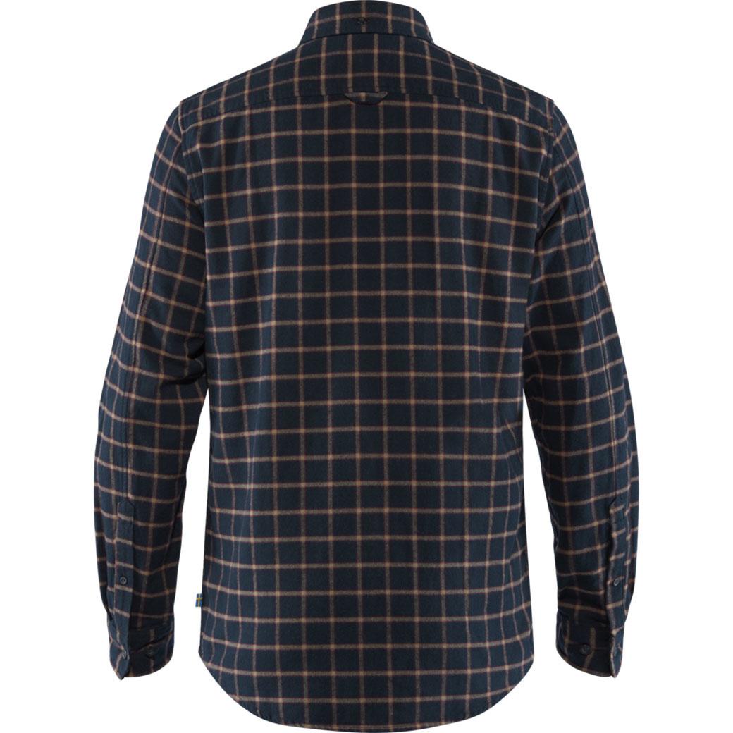 Fjällräven Övik Flannel Shirt M Dark Navy-2