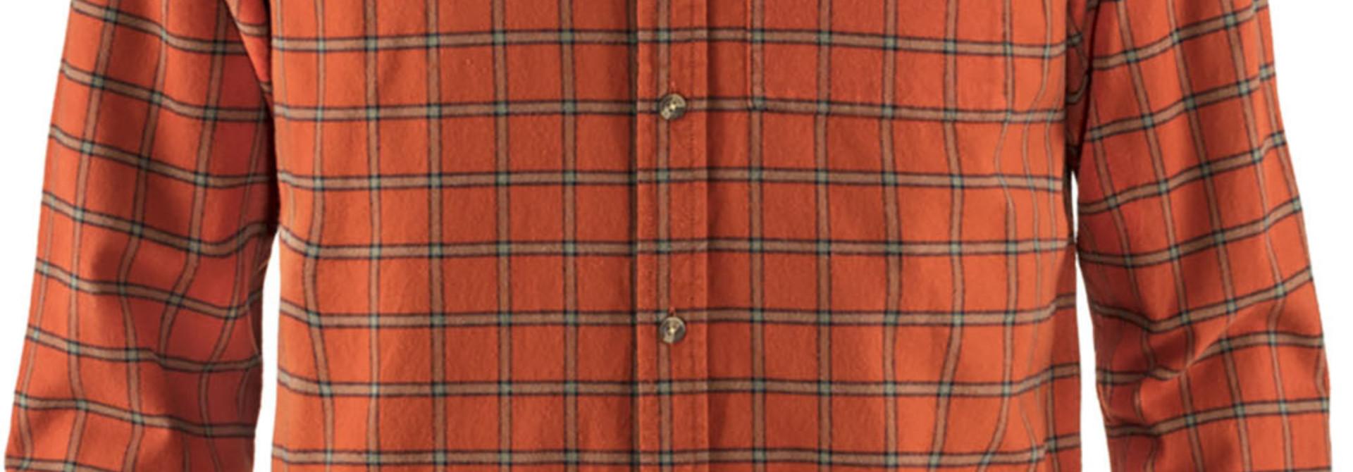 Fjällräven Övik Flannel Shirt M Autumn Leaf