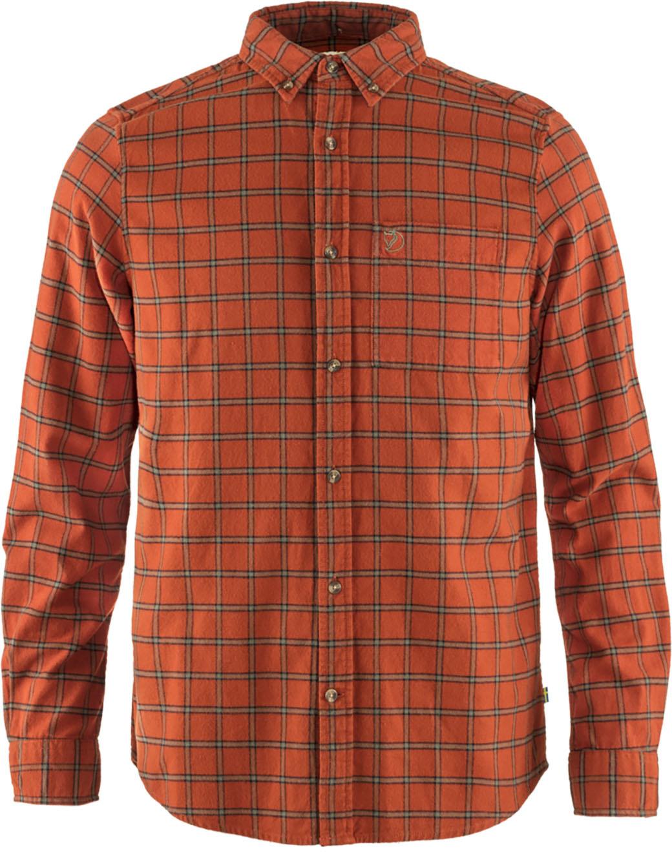 Fjällräven Övik Flannel Shirt M Autumn Leaf-1