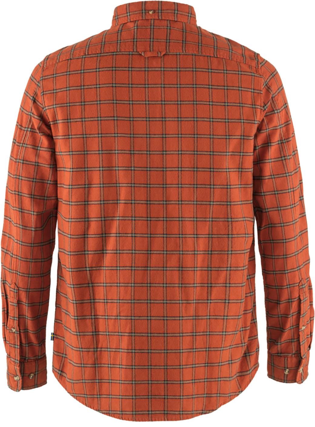 Fjällräven Övik Flannel Shirt M Autumn Leaf-2