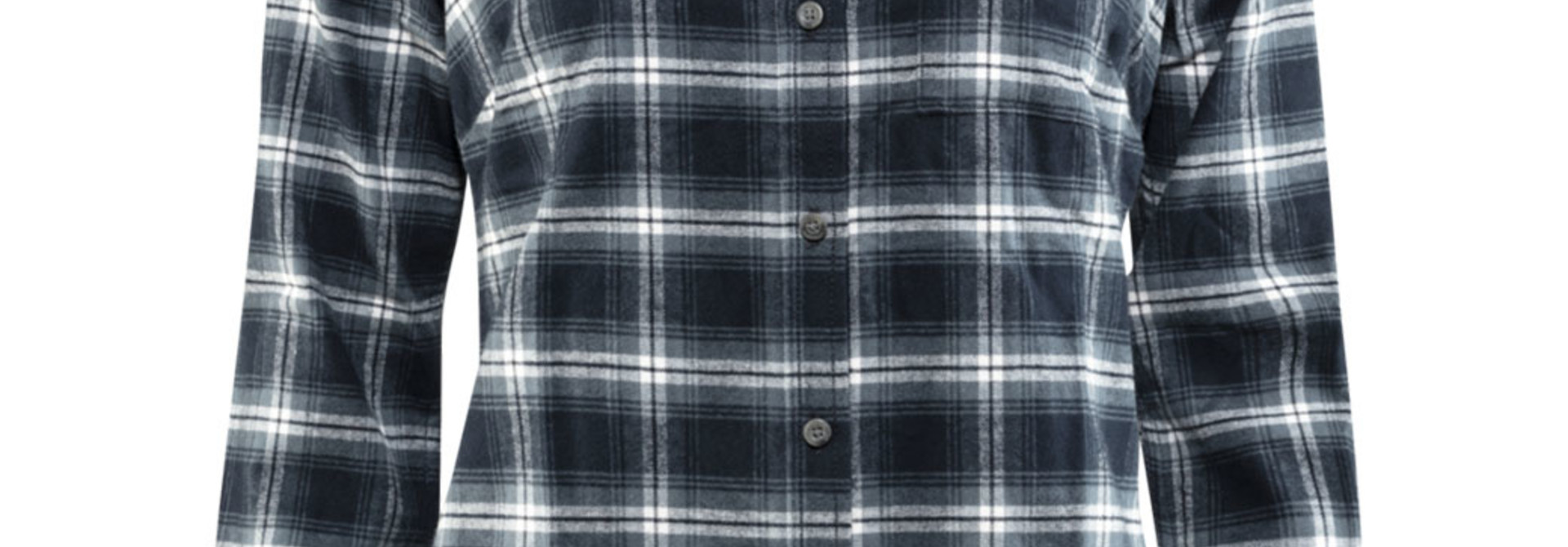 Fjällräven Övik Flannel Shirt W Dark Navy