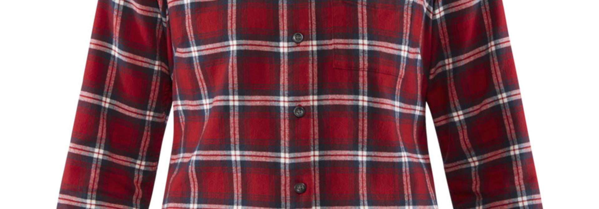 Fjällräven Övik Flannel Shirt W Deep Red