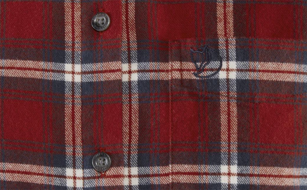 Fjällräven Övik Flannel Shirt W Deep Red-6