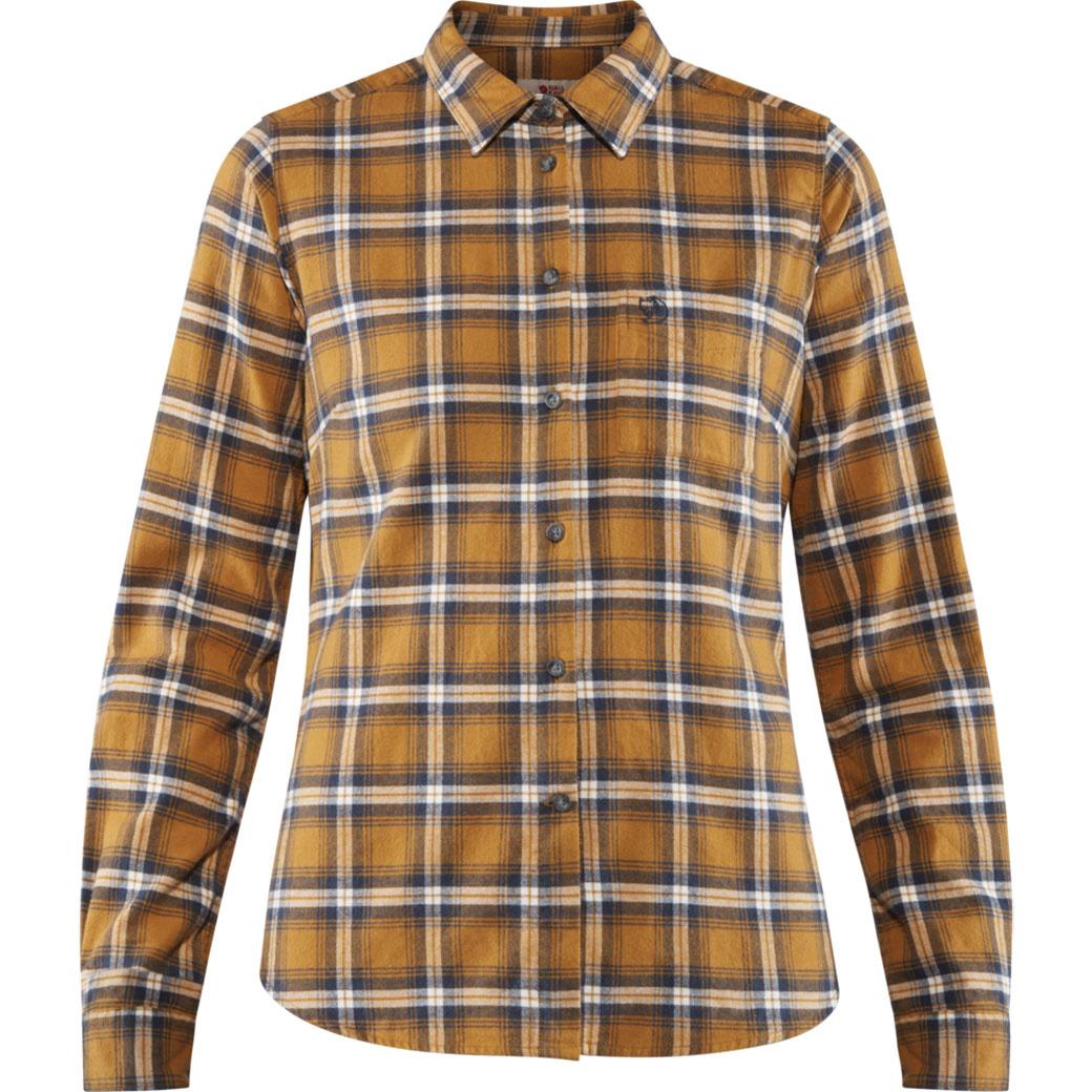 Fjällräven Övik Flannel Shirt W Acorn-1