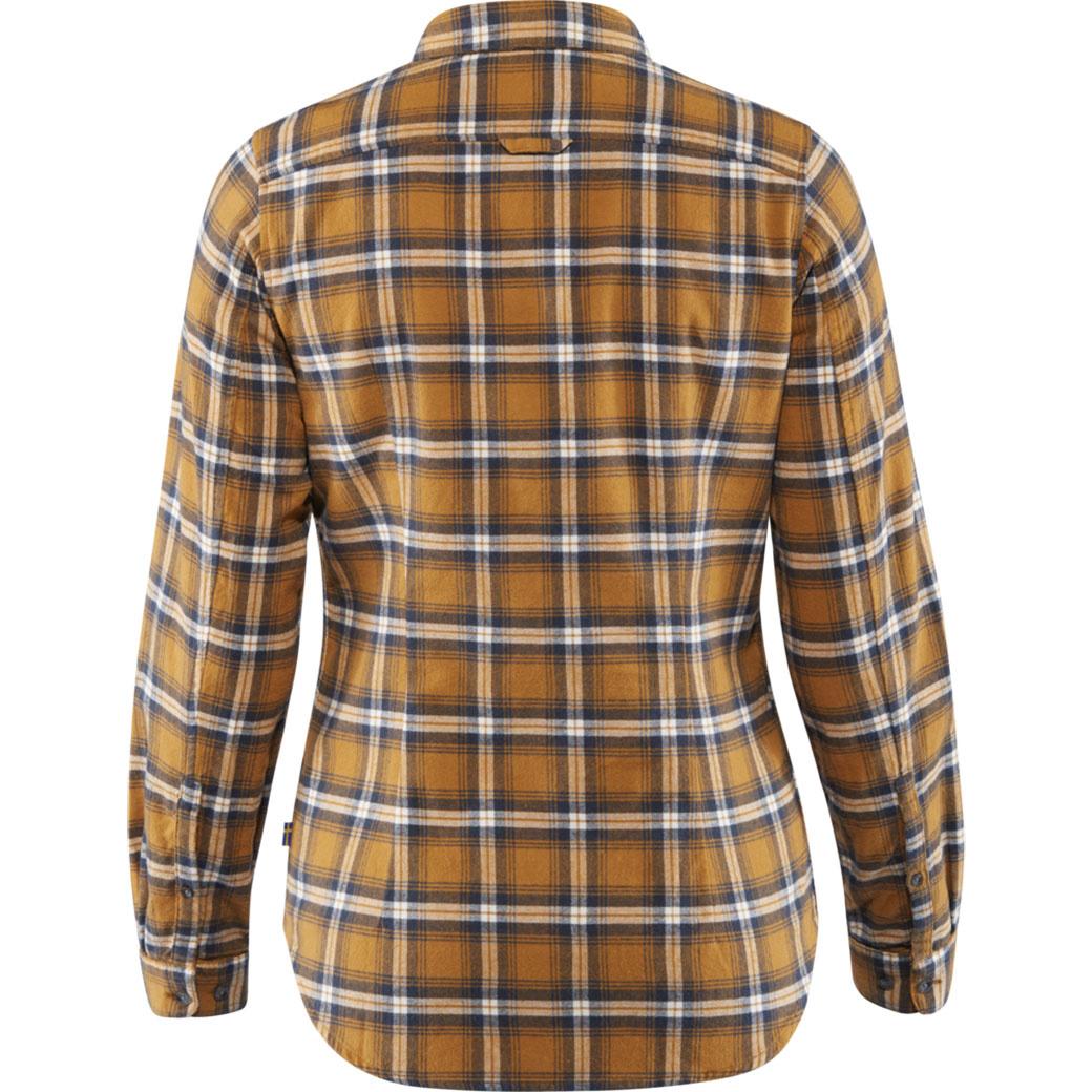 Fjällräven Övik Flannel Shirt W Acorn-2