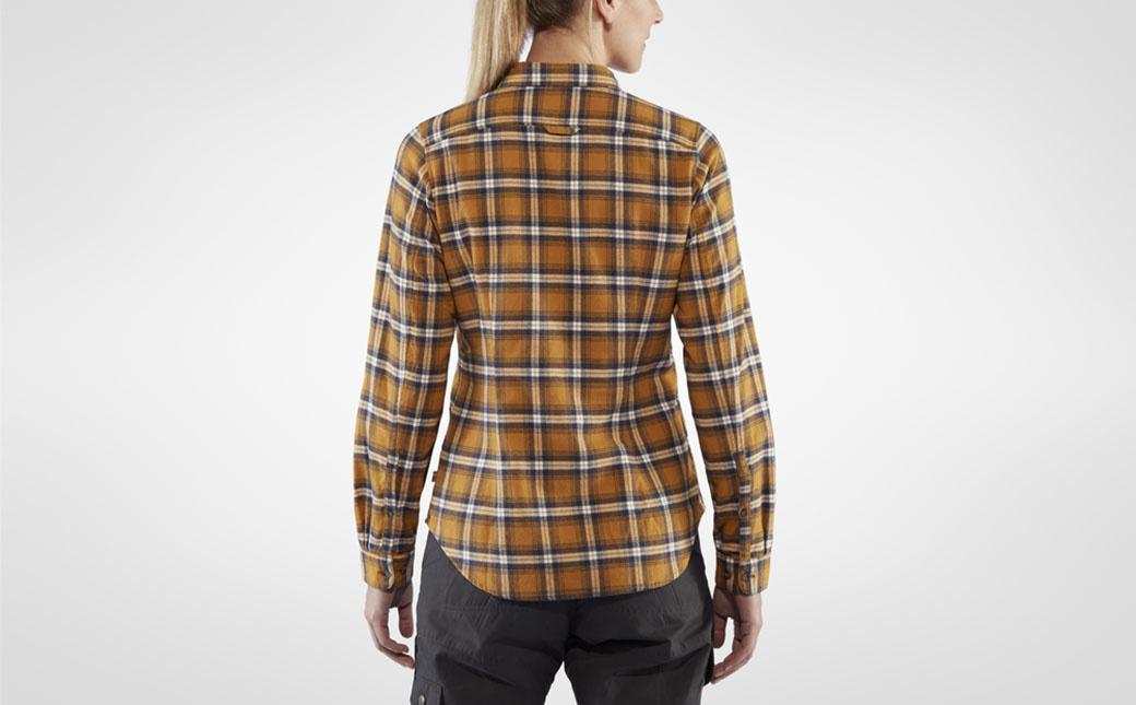 Fjällräven Övik Flannel Shirt W Acorn-4