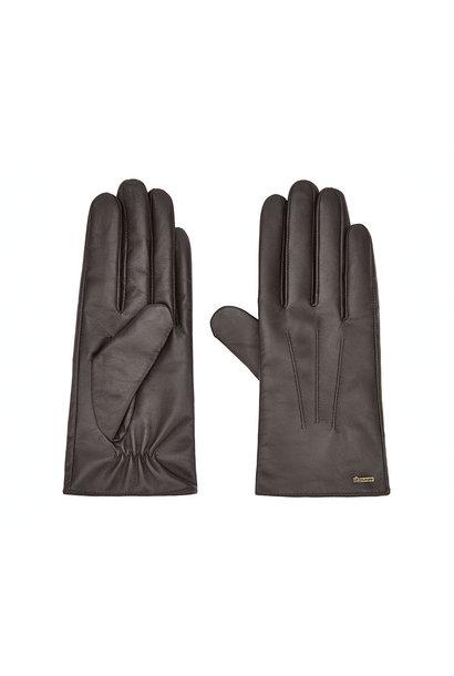 Dubarry Sheehan Leren Dames Handschoenen - Mahogany