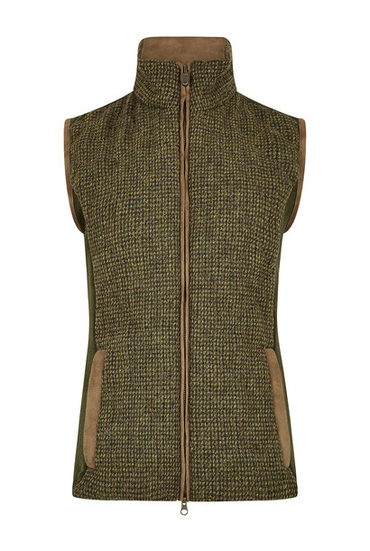 Dubarry Juniper Tweed Bodywarmer - Heath