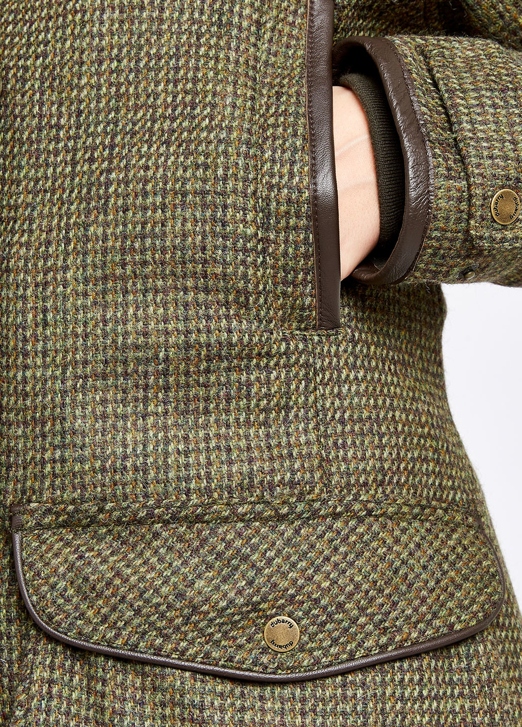 Dubarry Ballynahinch Tweed GORE-TEX Jas - Heat-4