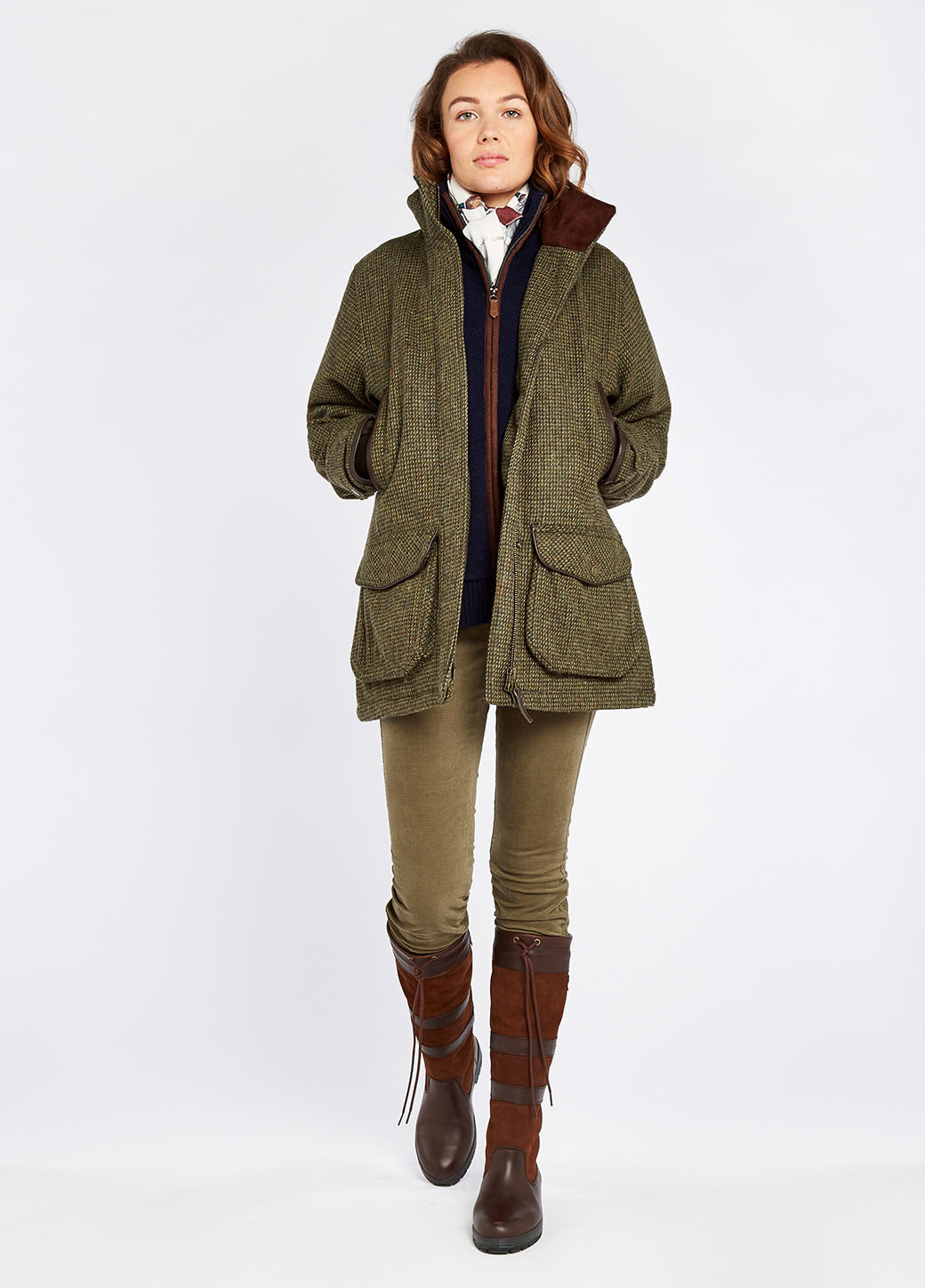 Dubarry Ballynahinch Tweed GORE-TEX Jas - Heat-7