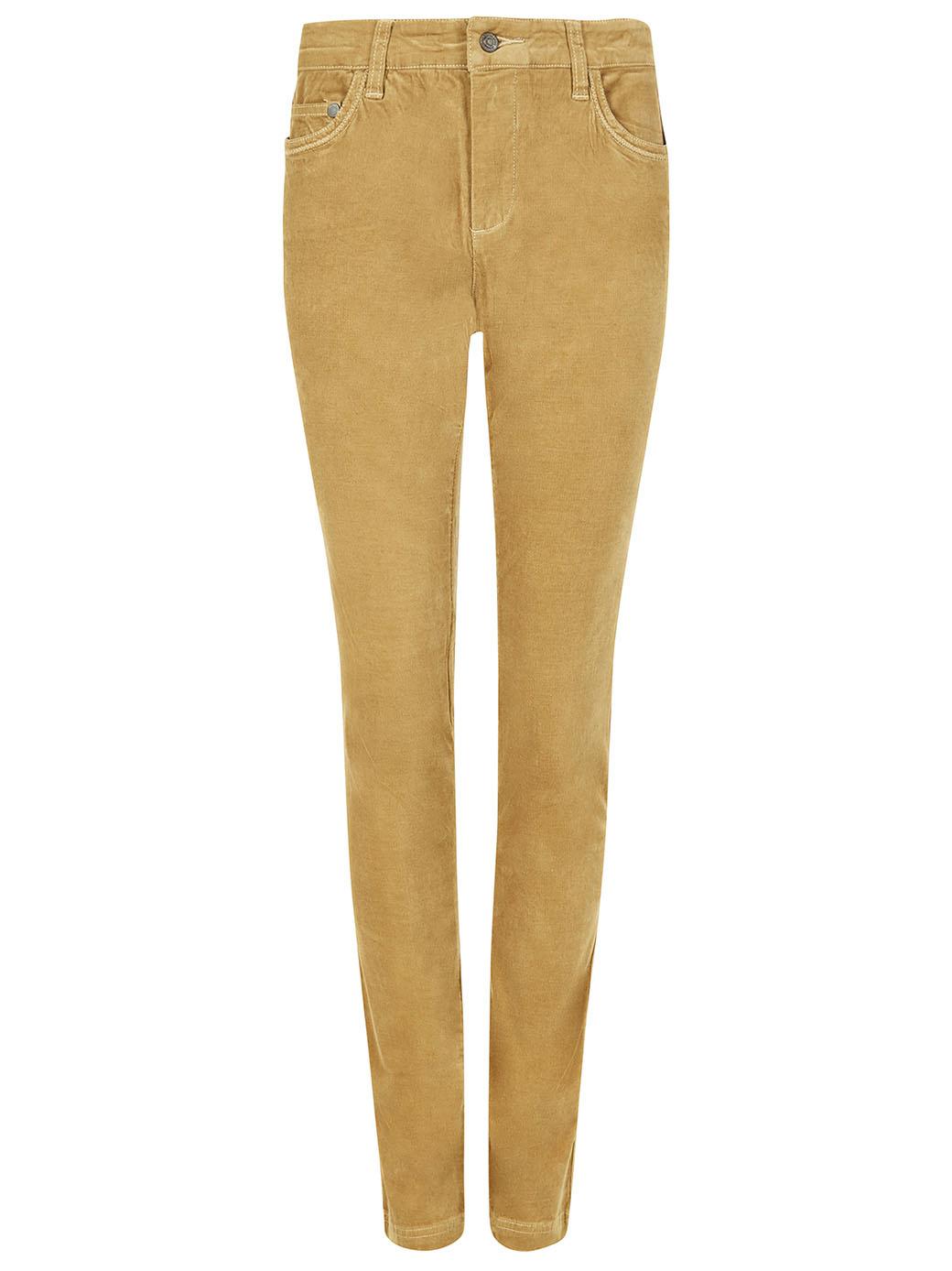 Dubarry Honeysuckle Corduroy stretchbroek - Camel-1