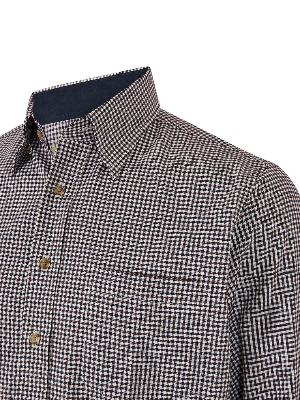 Dubarry Shrewsbury Katoenen Shirt - Navy Multi-4