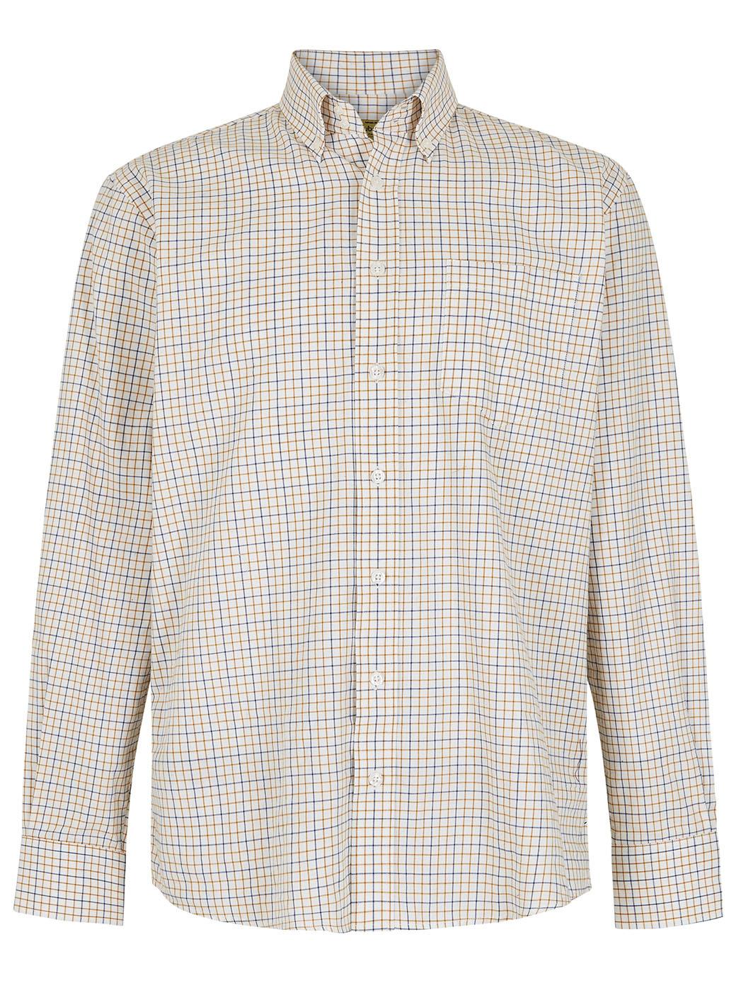 Dubarry Muckross Tattersall Shirt - Harvest-1