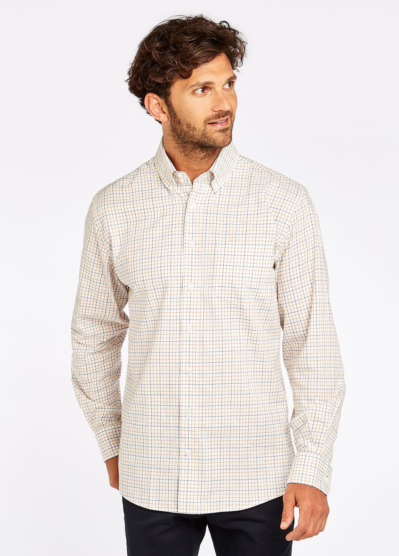 Dubarry Muckross Tattersall Shirt - Harvest-2