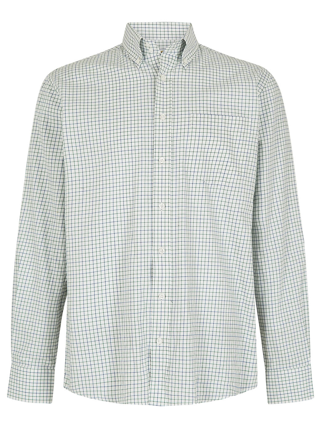 Dubarry Muckross Tattersall Shirt - Dusky Green-1