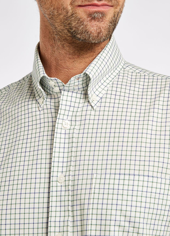 Dubarry Muckross Tattersall Shirt - Dusky Green-3