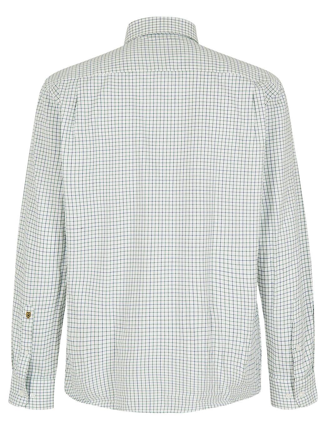Dubarry Muckross Tattersall Shirt - Dusky Green-5