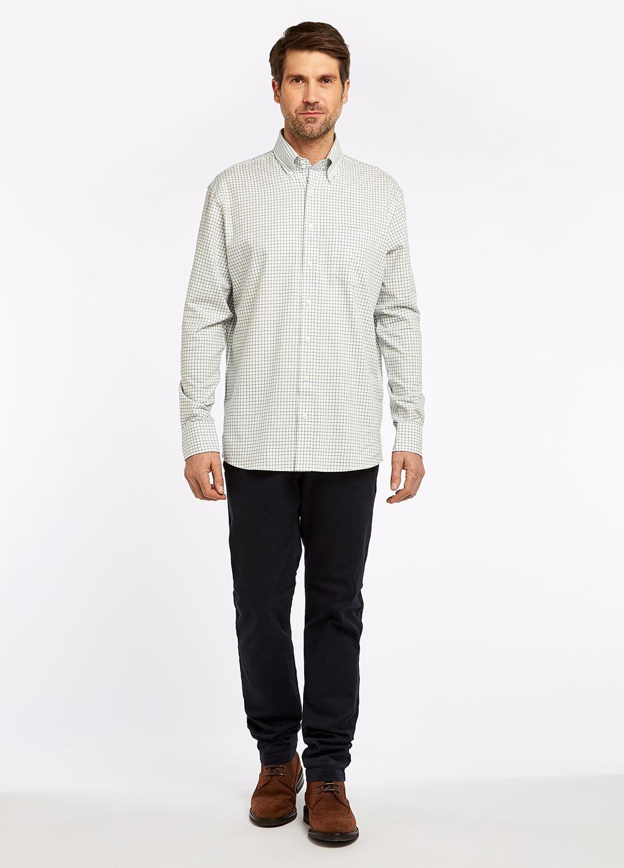 Dubarry Muckross Tattersall Shirt - Dusky Green-6