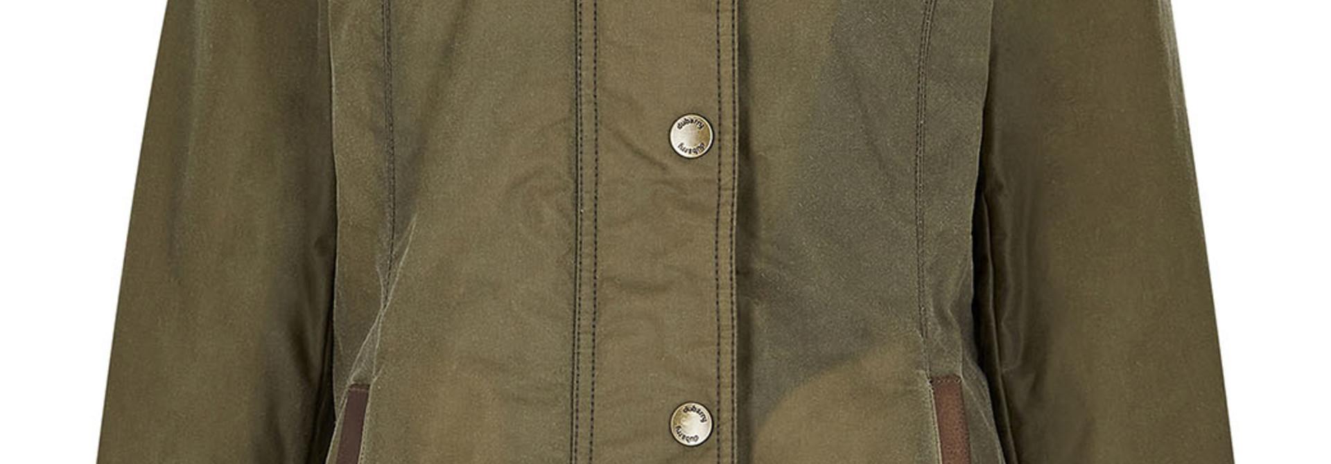 Dubarry Mountrath PrimaLoft® Waxjas - Dusky Green