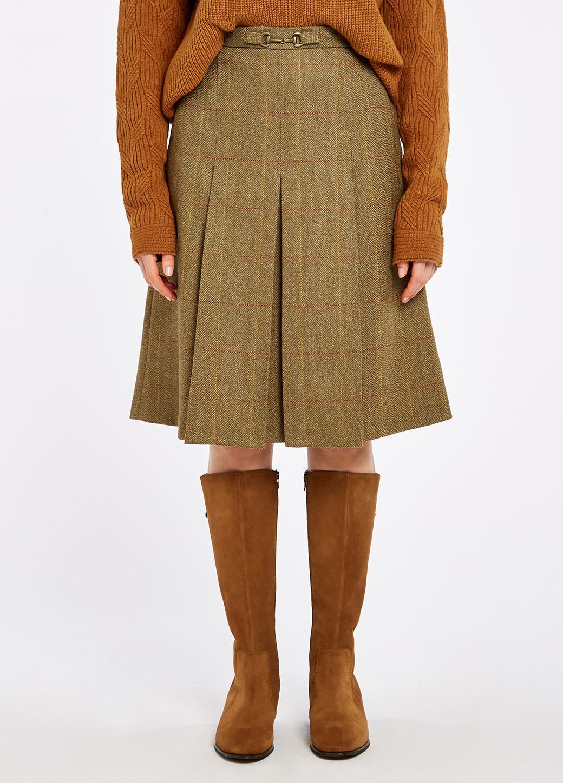 Dubarry Spruce Tweed Rok - Elm-4