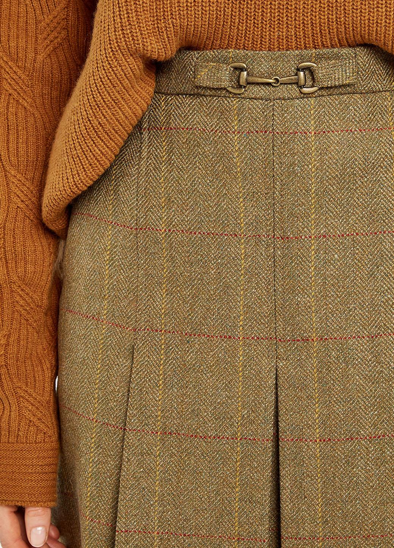 Dubarry Spruce Tweed Rok - Elm-5