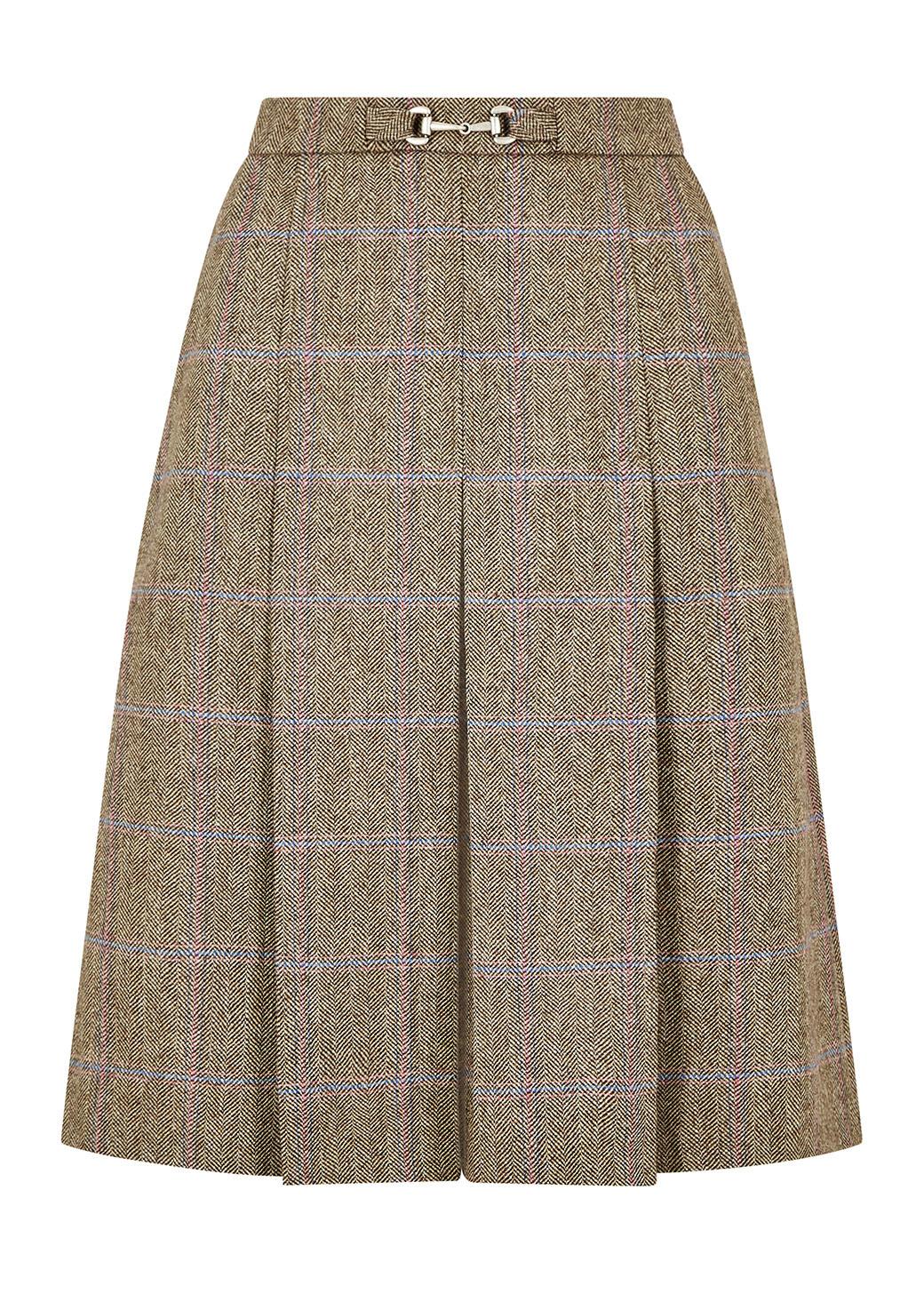 Dubarry Spruce Tweed Rok - Woodrose-1