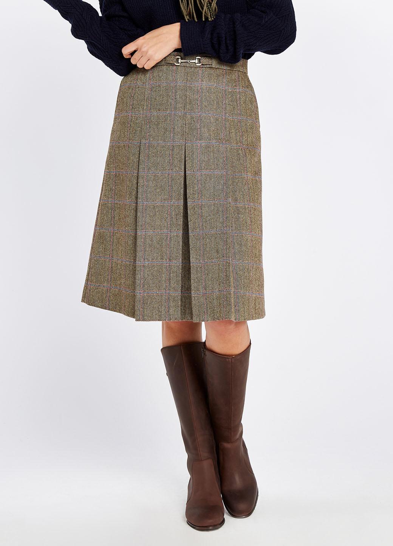 Dubarry Spruce Tweed Rok - Woodrose-3