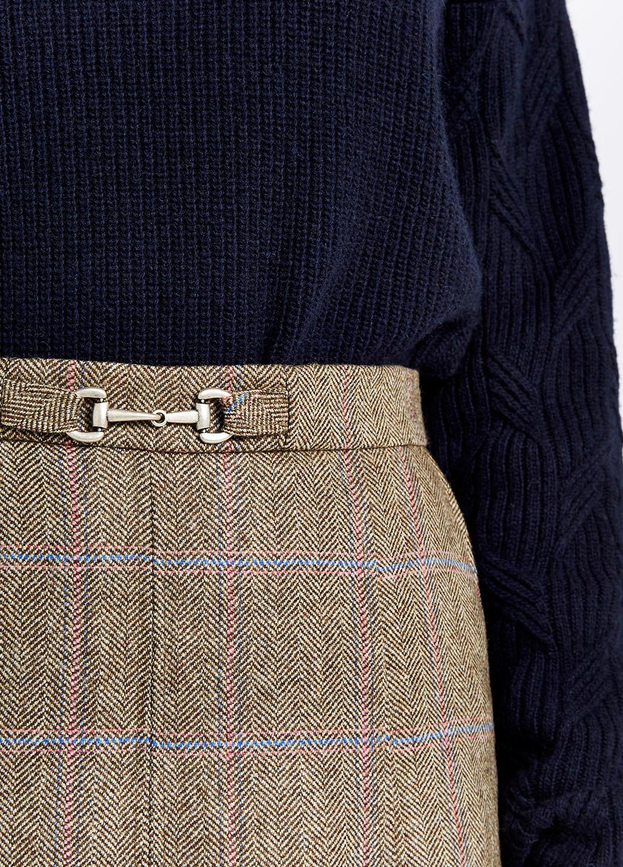 Dubarry Spruce Tweed Rok - Woodrose-4