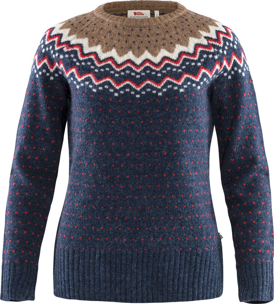 Fjällräven Övik Knit Sweater W Navy-1