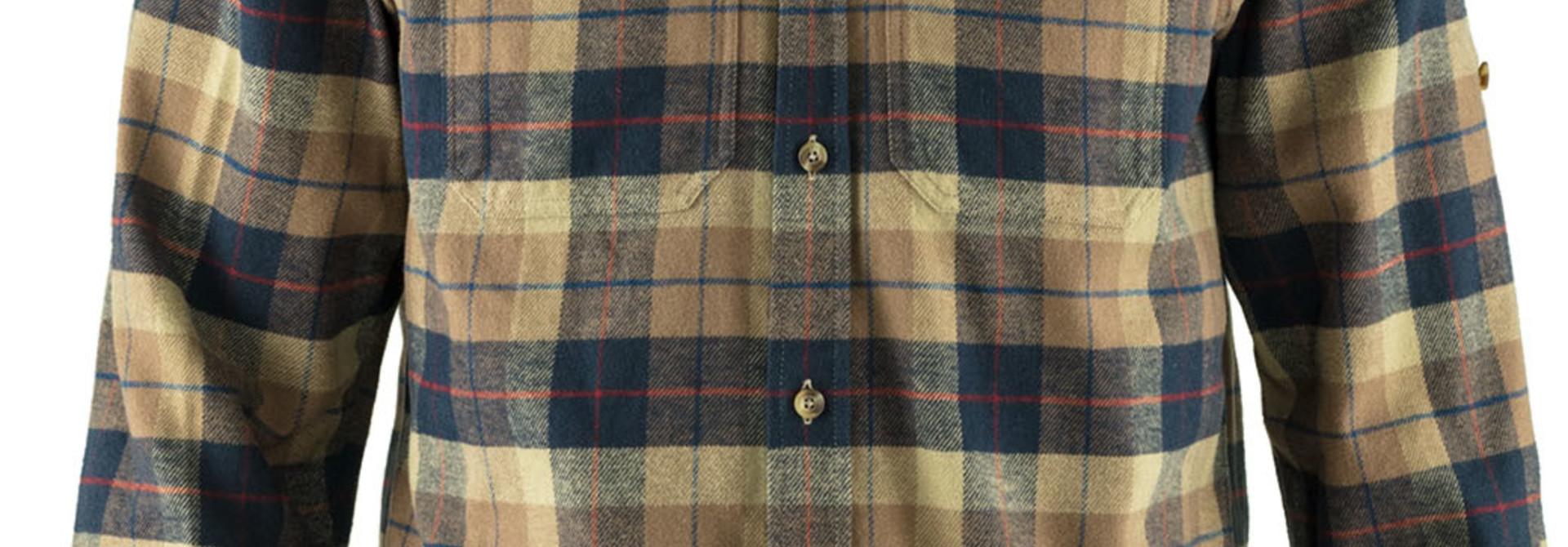 Fjällräven Singi Heavy Flannel Shirt M Dark Sand