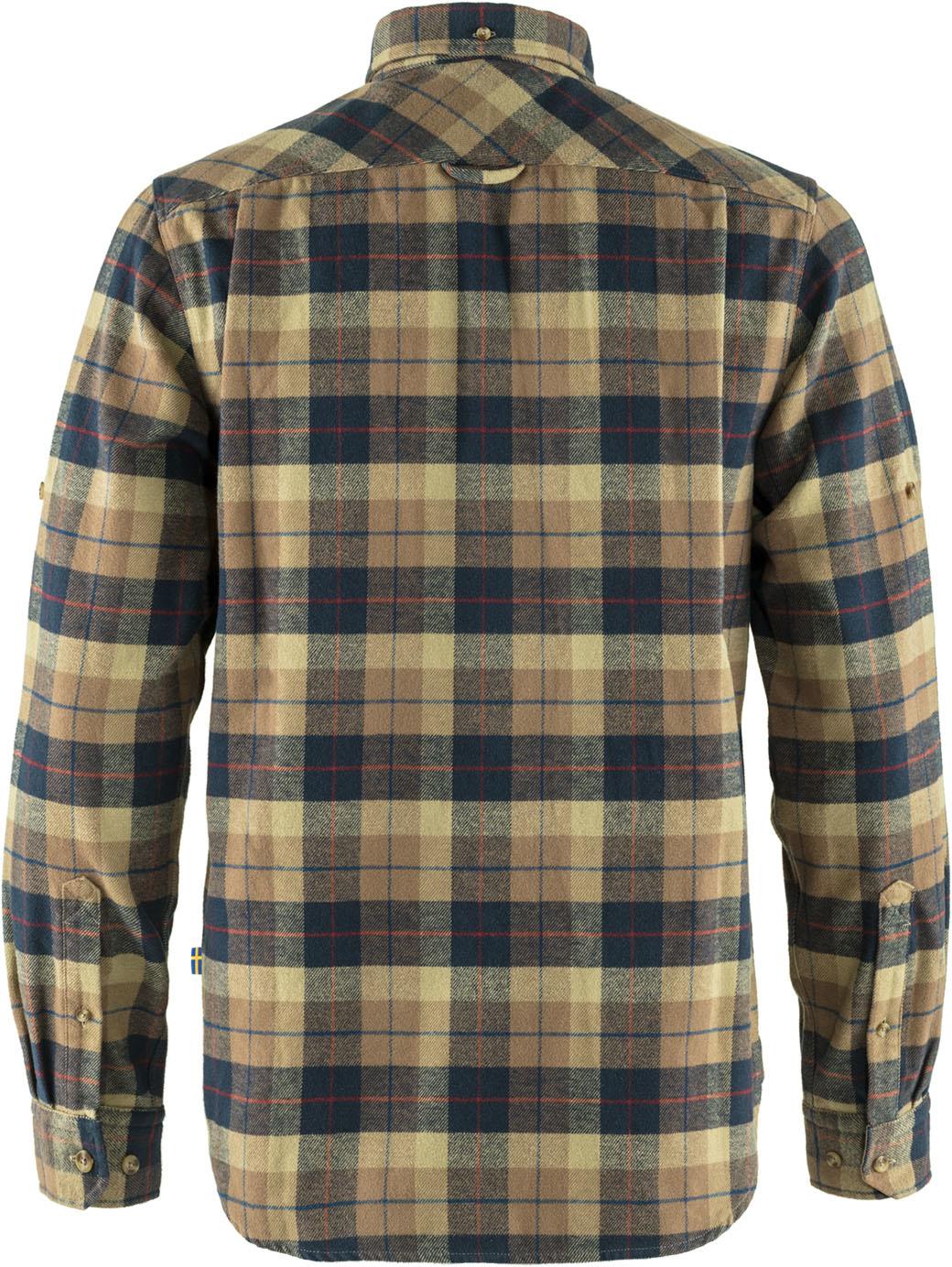 Fjällräven Singi Heavy Flannel Shirt M Dark Sand-2