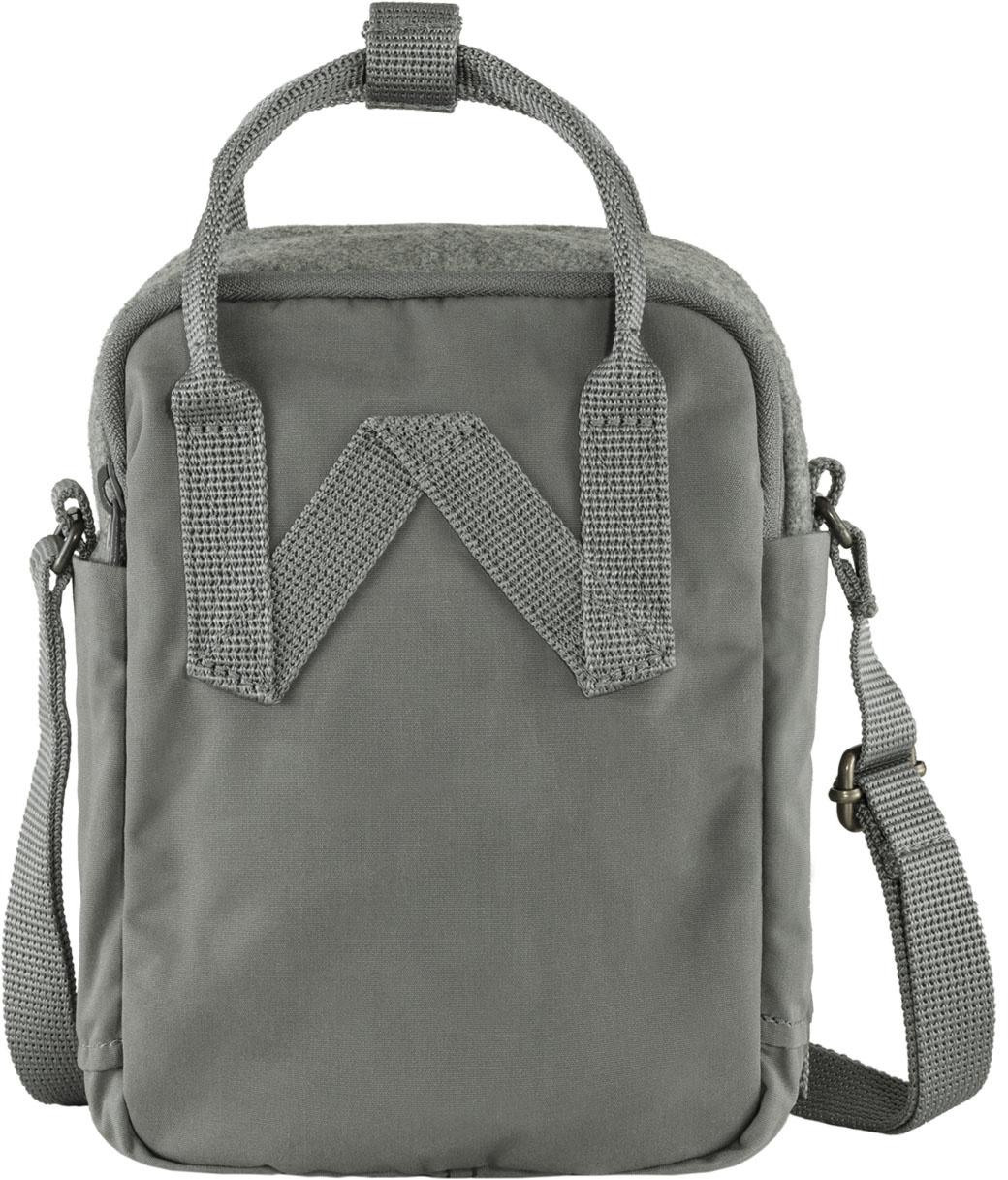 Fjällräven Kånken Re-Wool Sling Granite Grey-2