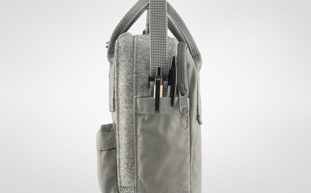 Fjällräven Kånken Re-Wool Sling Granite Grey-7