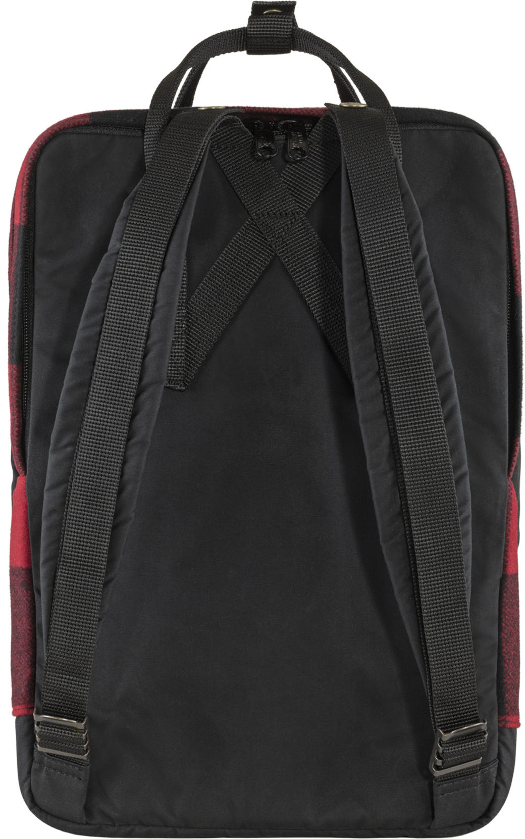 """Fjällräven Kånken Re-Wool Laptop 15"""" Red-Black-4"""