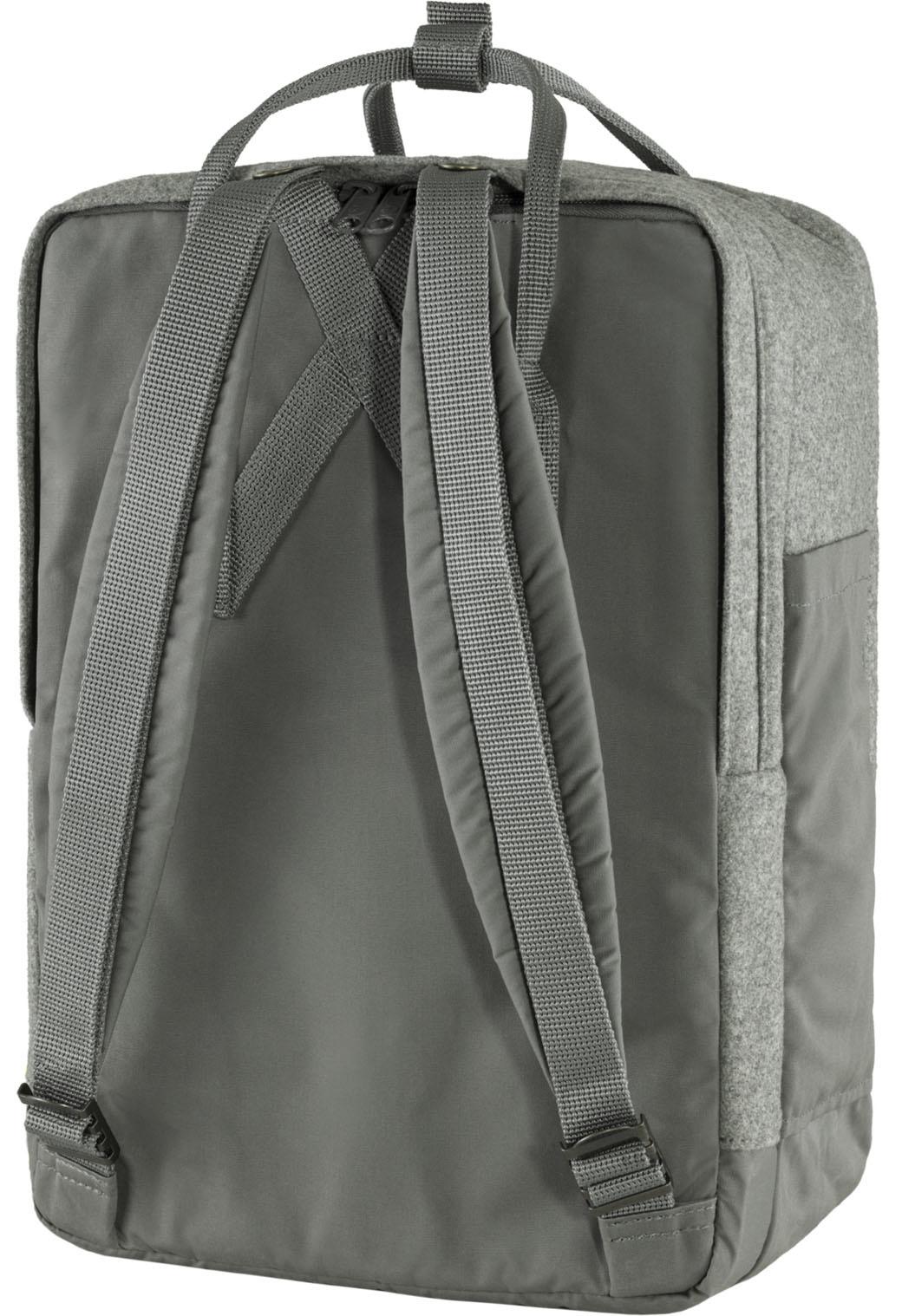 """Fjällräven Kånken Re-Wool Laptop 15"""" Granite Grey-10"""